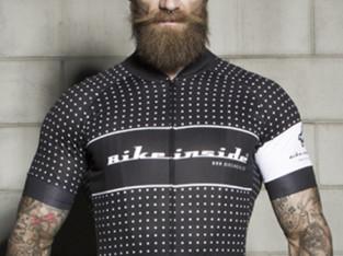Jersey Novo BIKE INSIDE Cycling Wear Jersey Pois 8e15d3020