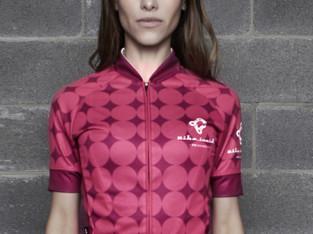 Jersey de Senhora Novo BIKE INSIDE Cycling Wear Pink Rounded 5bcf562c1