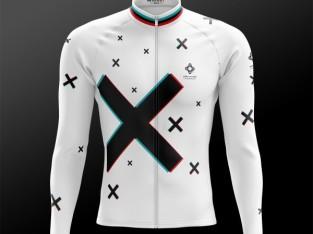 Jersey de Manga Comprida Novo BIKE INSIDE Cycling Wear 3D Winter Jersey 96c69770b