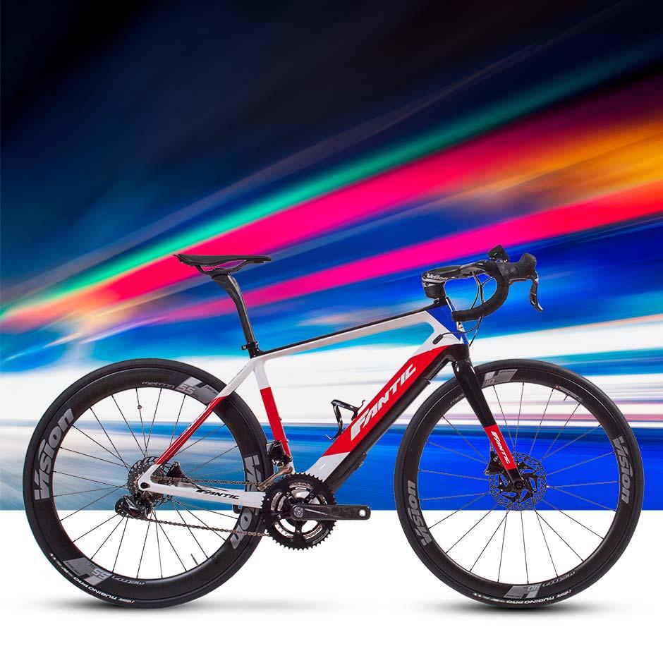 Nova Bicicleta de Estrada Eléctrica Passo Giau WE da Fantic Bikes ... b3ea84201a0